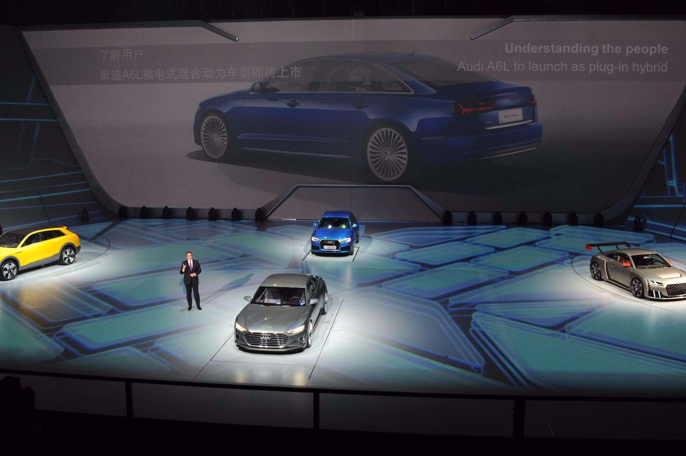 奥迪的新能源汽车计划